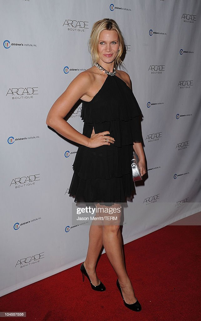 Natasha Henstridge arrives at 'The Autumn Party' presented by ARCADE Boutique at The London Hotel on September 29, 2010 in West Hollywood, California.