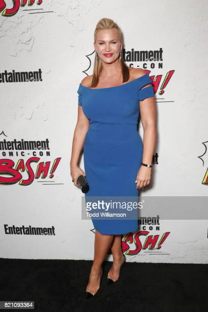 Natasha Henstridge at Entertainment Weekly's annual ComicCon party in celebration of ComicCon 2017 at Float at Hard Rock Hotel San Diego on July 22...
