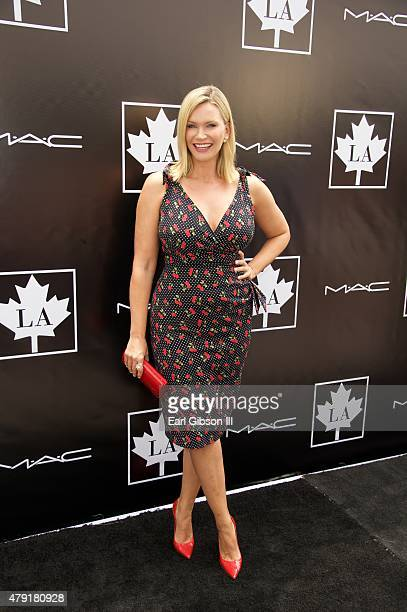 Natasha Henstridge attends the 2015 Golden Maple Awards at SLS Hotel on July 1 2015 in Beverly Hills California