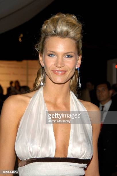 Natasha Henstridge during 13th Annual Elton John AIDS Foundation Oscar Party Co-hosted by Chopard - Inside at Pacific Design Center in West...