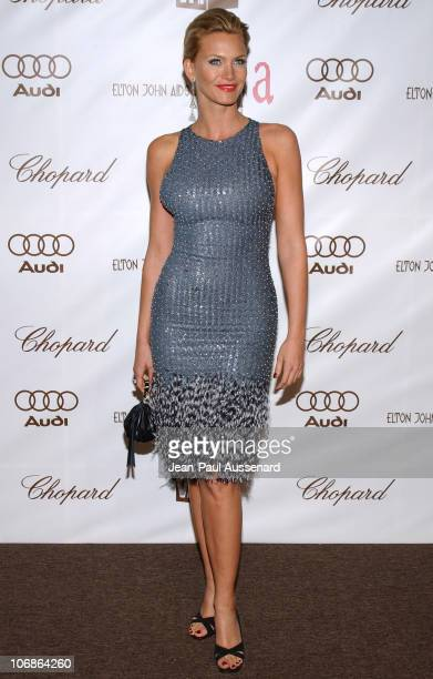 Natasha Henstridge during 14th Annual Elton John AIDS Foundation Oscar Party Cohosted by Audi Chopard and VH1 Arrivals at Pacific Design Center in...