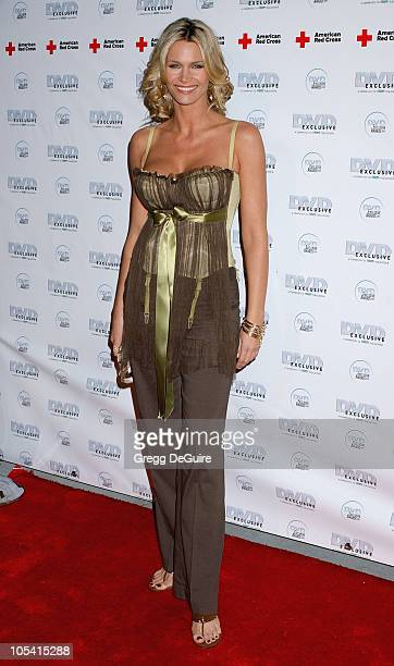 Natasha Henstridge during 2005 DVD Exclusive Awards - Arrivals at California Science Center in Los Angeles, California, United States.