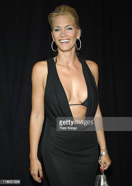 Natasha Henstridge during 2006 VH1 Rock Honors - Arrivals at Mandalay Bay Hotel and Casino in Las Vegas, Nevada, United States.