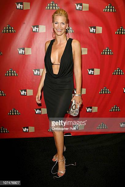 Natasha Henstridge during 2006 VH1 Rock Honors Red Carpet at Mandalay Bay Hotel and Casino in Las Vegas United States United States