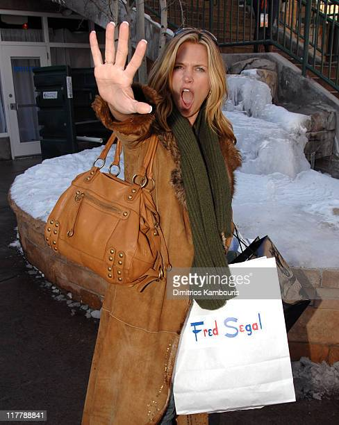 Natasha Henstridge during 2007 Park City Village at the Lift Day 4 at Village at the Lift in Park City Utah United States