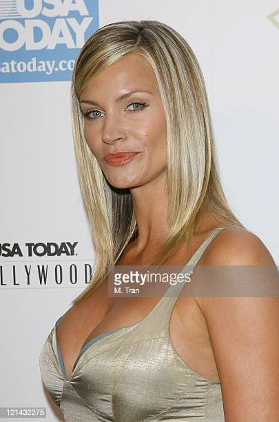 Natasha Henstridge during 2nd Annual USA Today Hollywood Hero Award - Arrivals at Beverly Hills Hotel in Beverly Hills, California, United States.