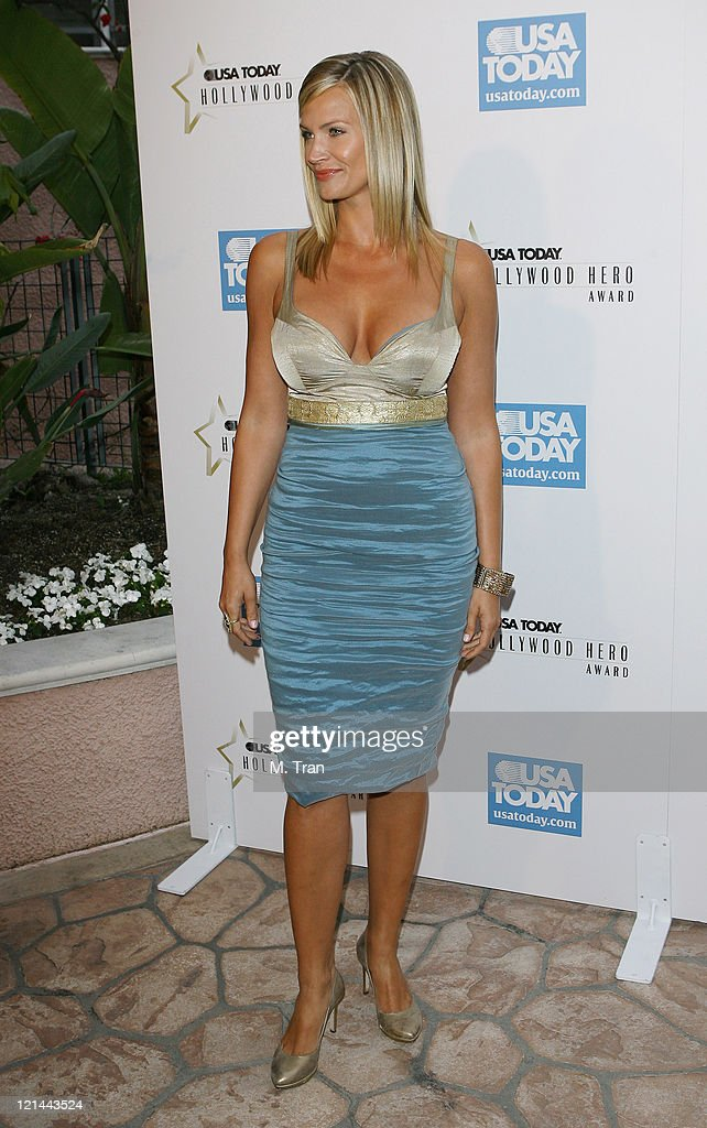 2nd Annual USA Today Hollywood Hero Award - Arrivals : News Photo