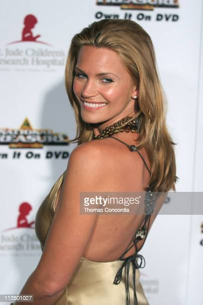 Natasha Henstridge during 3rd Annual Runway For Life Benefiting St Jude Children's Research Hospital - Red Carpet at Beverly Hilton in Beverly...