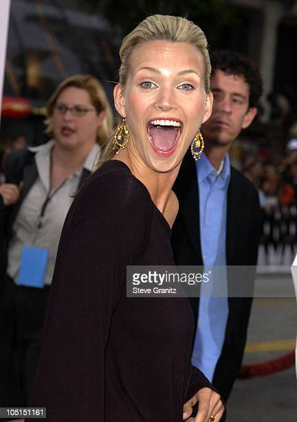 Natasha Henstridge during 'Charlie's Angels 2 Full Throttle' Premiere at Mann's Chinese Theater in Hollywood California United States
