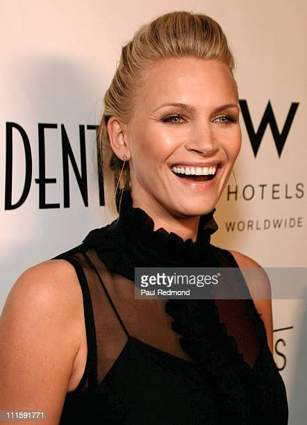 Natasha Henstridge during LA Confidential Magazine Pre-Golden Globe Party in Association with W Hotels Worldwide - Arrivals at Whiskey Blue at W...