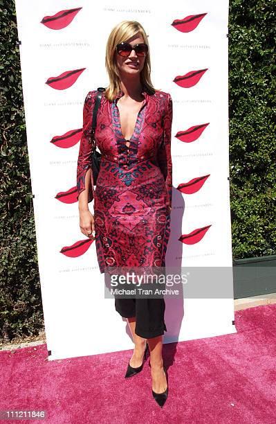 Natasha Henstridge during Diane Von Furstenberg Boutique Launch - Arrivals at Diane Von Furstenberg Boutique in Los Angeles, California, United...