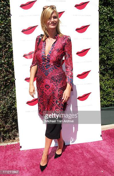 Natasha Henstridge during Diane Von Furstenberg Boutique Launch - Arrivals at Diane Von Furstenberg Boutique in Los Angeles, California, United...