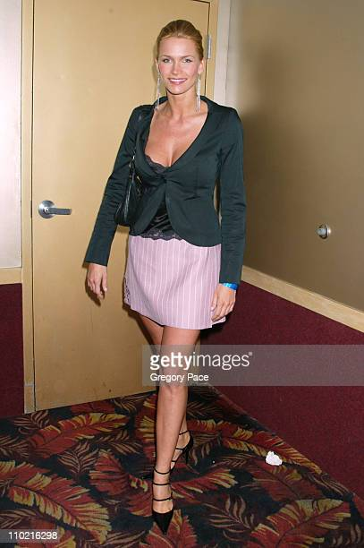 "Natasha Henstridge during ""Dressed to Kilt"" - A Scottish Evening of Fashion and Fun - Arrivals and Backstage at Copacabana in New York City, New..."