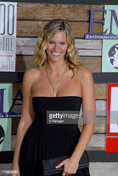 Natasha Henstridge during EMA & E! Golden Green Party at 9900 Wilshire Blvd in Beverly Hills, California, United States.
