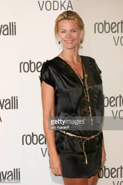 Natasha Henstridge during International Fashion Designer Roberto Cavalli Celebrates The Launch of Roberto Cavalli Vodka in Holmby Hills California...