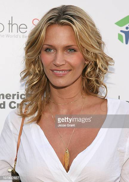 Natasha Henstridge during Love Letters to the South Messages of Hope and Healing from the World's Best Loved Celebrities Los Angeles Book Launch at...
