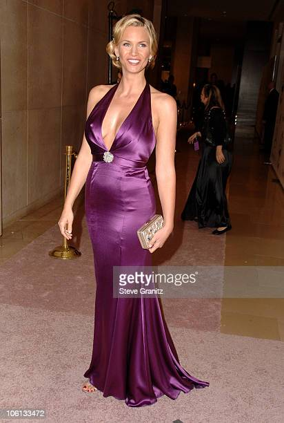 Natasha Henstridge during MercedesBenz Presents the 17th Carousel of Hope Ball Arrivals at Beverly Hilton Hotel in Beverly Hills California United...