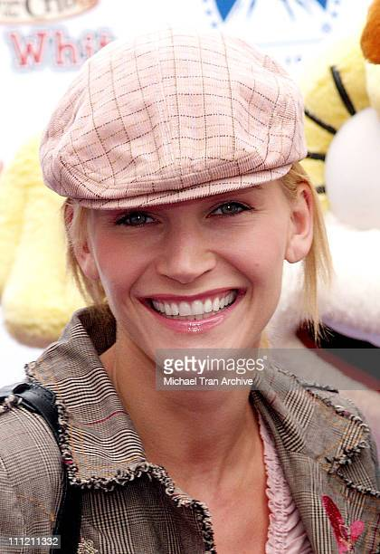 Natasha Henstridge during Nickelodeon Presents Fairypalooza Premiere for Rugrats Tales From The Crib Snow White Arrivals at Nickelodeon Animation...