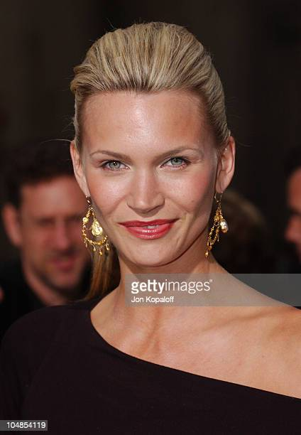 Natasha Henstridge during Premiere of Charlie's Angels Full Throttle at Grauman's Chinese Theatre in Hollywood California United States