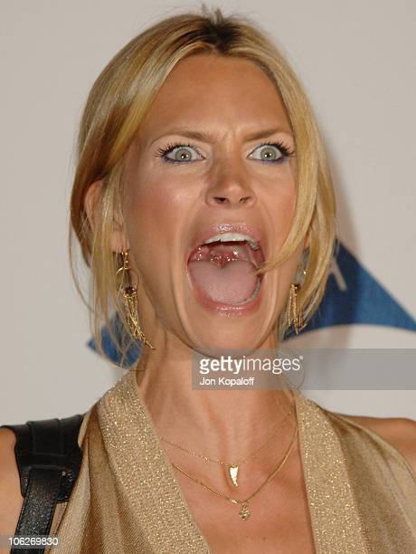 "Natasha Henstridge during Rock & Republic ""Love Rocks"" Fashion Show Spring 2006 at Sony Studios in Culver City, California, United States."