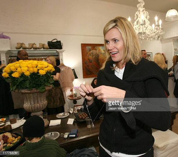 Natasha Henstridge during Soulmate's 'Diamonds for a Girl's Best Friend' Launch Celebration with Sponsors Delilah Bakery Dubonnet Godiva and Perrier...