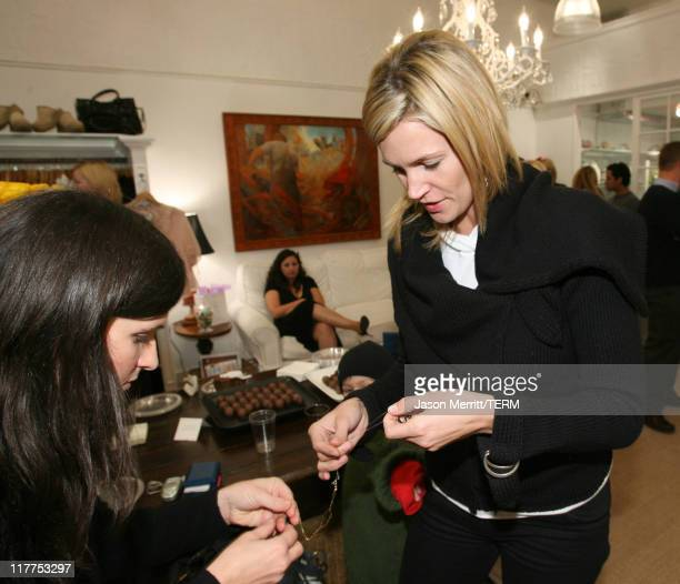 Natasha Henstridge during Soulmate's Diamonds for a Girl's Best Friend Launch Celebration with Sponsors Delilah Bakery Dubonnet Godiva and Perrier at...
