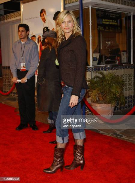 "Natasha Henstridge during ""Spanglish"" Los Angeles Premiere - Arrivals at Mann Village Theater in Westwood, California, United States."