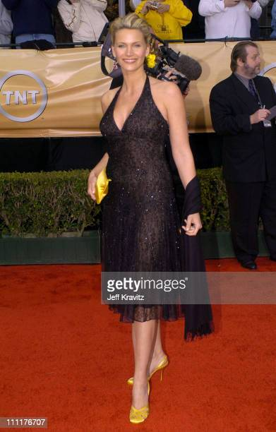Natasha Henstridge during The 10th Annual Screen Actors Guild Awards - Arrivals at The Shrine Auditorium in Los Angeles, California, United States.