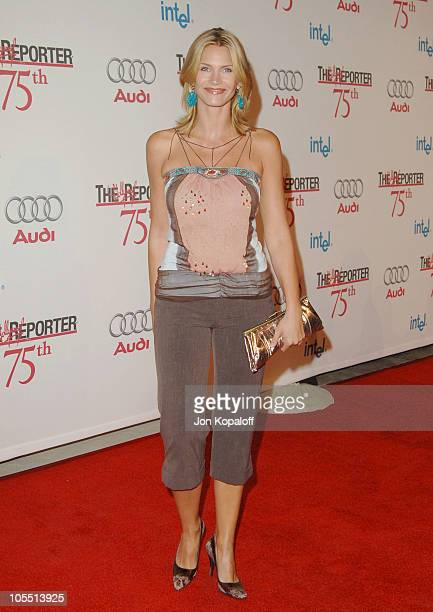 Natasha Henstridge during The Hollywood Reporter 75th Anniversary Gala Presented by Audi - Arrivals at Astra West in West Hollywood, California,...