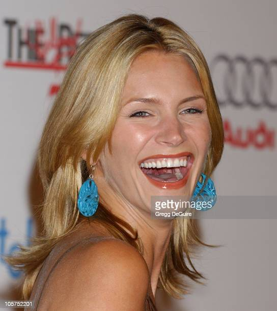 Natasha Henstridge during The Hollywood Reporter 75th Anniversary Gala Presented By Audi - Arrivals in Los Angeles, California, United States.