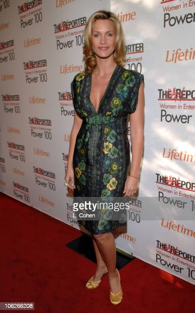 Natasha Henstridge during The Hollywood Reporter's 15th Annual Women in Entertainment Breakfast Sponsored by Lifetime Television Red Carpet at...