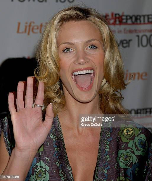 Natasha Henstridge during The Hollywood Reporter's 15th Annual Women in Entertainment Breakfast Sponsored by Lifetime Television - Arrivals at...