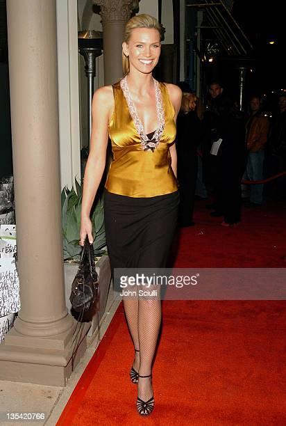 Natasha Henstridge during The Rebirth of L Salon Fashion Show and Party at L Salon in Los Angeles California United States