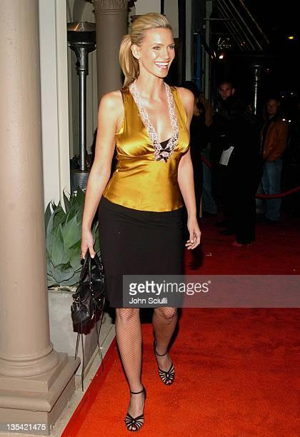 Natasha Henstridge during The Rebirth of L Salon Fashion Show and Party at L Salon in Los Angeles, California, United States.