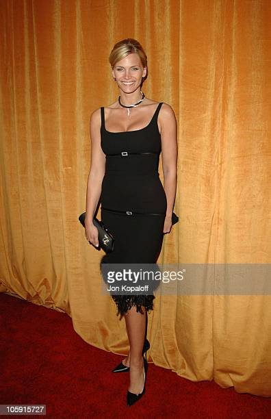 Natasha Henstridge during The Weinstein Company/Glamour 2006 Golden Globes After Party at Trader Vic's in Beverly Hilton Hotel California United...