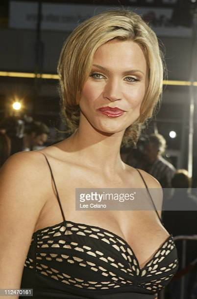 Natasha Henstridge during The Whole Ten Yards World Premiere Red Carpet at Grauman's Chinese Theatre in Hollywood California United States
