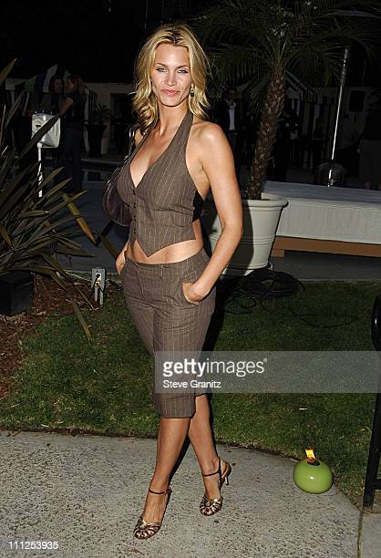 Natasha Henstridge during Travel Leisure Magazine Celebrates 35th Birthday Arrivals at W Hotel Los Angeles in Westwood California United States