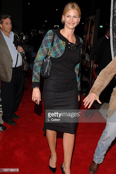 Natasha Henstridge during Two for the Money World Premiere CoPresented By Bodogcom Red Carpet at Samuel Goldwyn Theater in Los Angeles California...