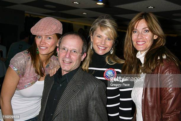 Natasha Henstridge Kenneth Feld president/producer of Ringling Brothers and Barnum Bailey Circus Christie Brinkley and Carol Alt