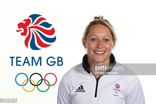 Natasha Hunt poses for a portrait during the Team GB Kitting Out ahead of Rio 2016 Olympic Games on July 7 2016 in Birmingham England