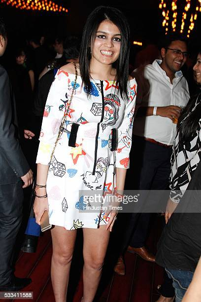Natasha Jain during the launch of Lord of the Drinks Forum at Epicuria Food Mall at Nehru place on May 18 2016 in New Delhi India The launch saw...