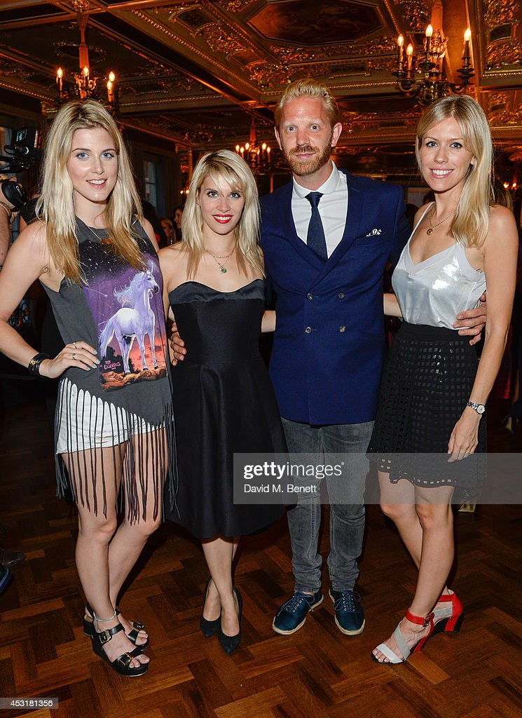 Natasha James , Pips Taylor ,Alistair Guy,Nicki Shields attend the VIP charity event, which Drapers and WGSN Group, partnered with Parsons The New School for Design and the British Fashion Council to hold, in aid of the Prince's Trust Million Makers on August 4, 2014 in London, England. The event saw the launch the acclaimed book 'The School of Fashion: 30 Parsons Designers' by Simon Collins, Dean of Fashion at Parsons. The richly-illustrated volume explores the legacy of Parsons through the testimony of its brightest alumni, with interviews and sketches from Donna Karan, Alexander Wang, Jack McCullough and Lazaro Hernandez of Proenza Schouler, and many others.