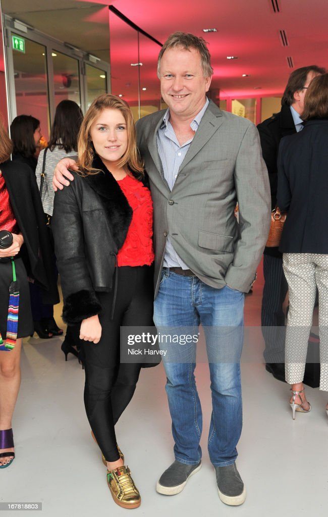 Natasha Jones and Nick Jones attend the opening of the Conde Nast College of Fashion and Design on April 30, 2013 in London, England.