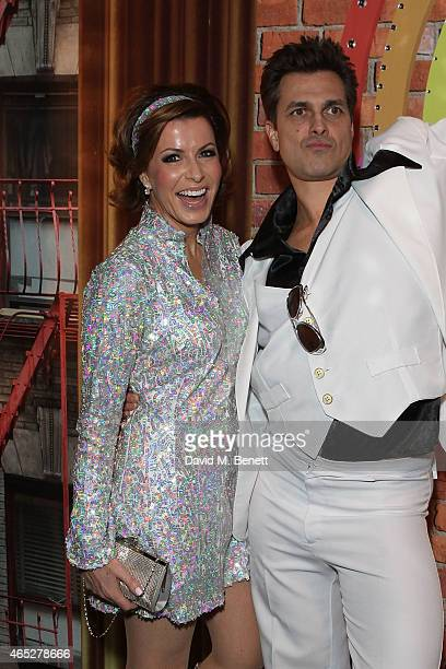 Natasha Kaplinsky and Justin Bower attend A Night Of Disco hosted by Helena Bonham Carter for Save The Children UK at The Roundhouse on March 5 2015...