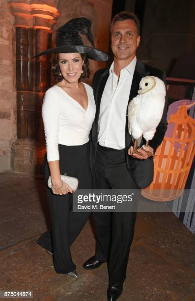 Natasha Kaplinsky and Justin Bower attend Save The Children's Magical Winter Gala celebrating the 20th anniversary since the publication of the first...