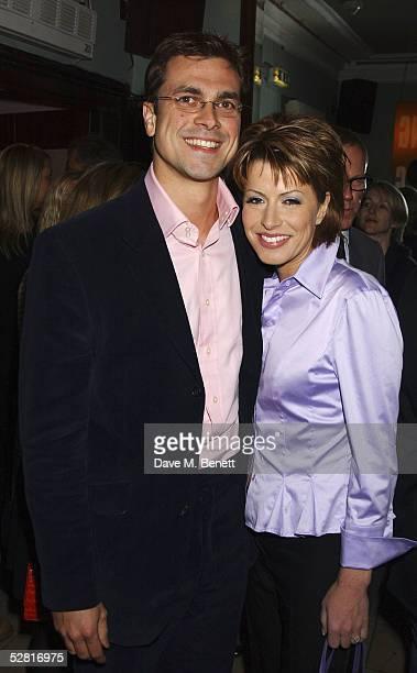 Natasha Kaplinsky and Justin Bower attend the aftershow party following the Opening Night and World Premiere of Billy Elliot The Musical showing at...