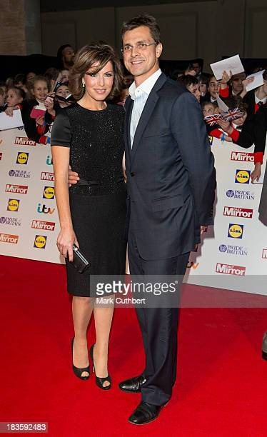Natasha Kaplinsky and Justin Bower attend the Pride of Britain awards at Grosvenor House on October 7 2013 in London England