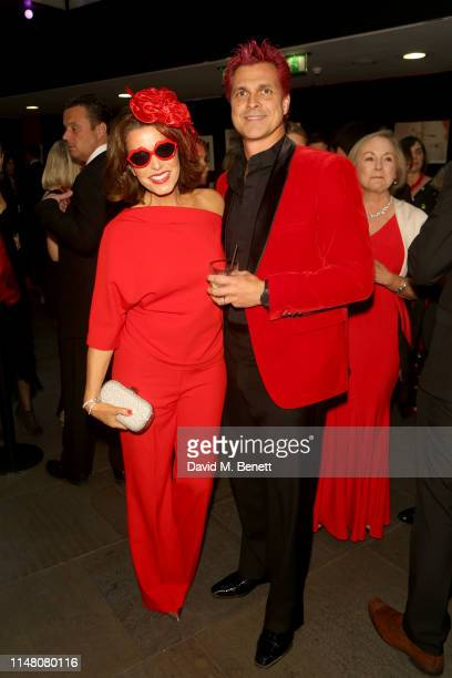 Natasha Kaplinsky and Justin Bower attend the Save The Children Centenary Gala at The Roundhouse on May 09 2019 in London England