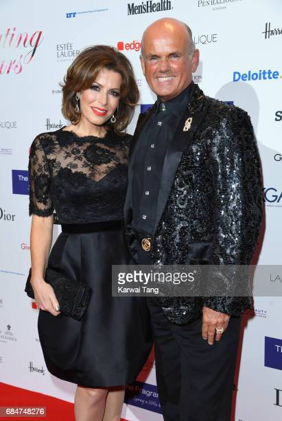 Natasha Kaplinsky and Roja Dove attend the Fragrance Foundation Awards at The Brewery on May 18 2017 in London England