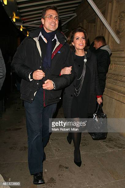 Natasha Kaplinsky attends as Cirque du Soleil opens its latest show Quidam at the Royal Albert Hall on January 7 2014 in London England